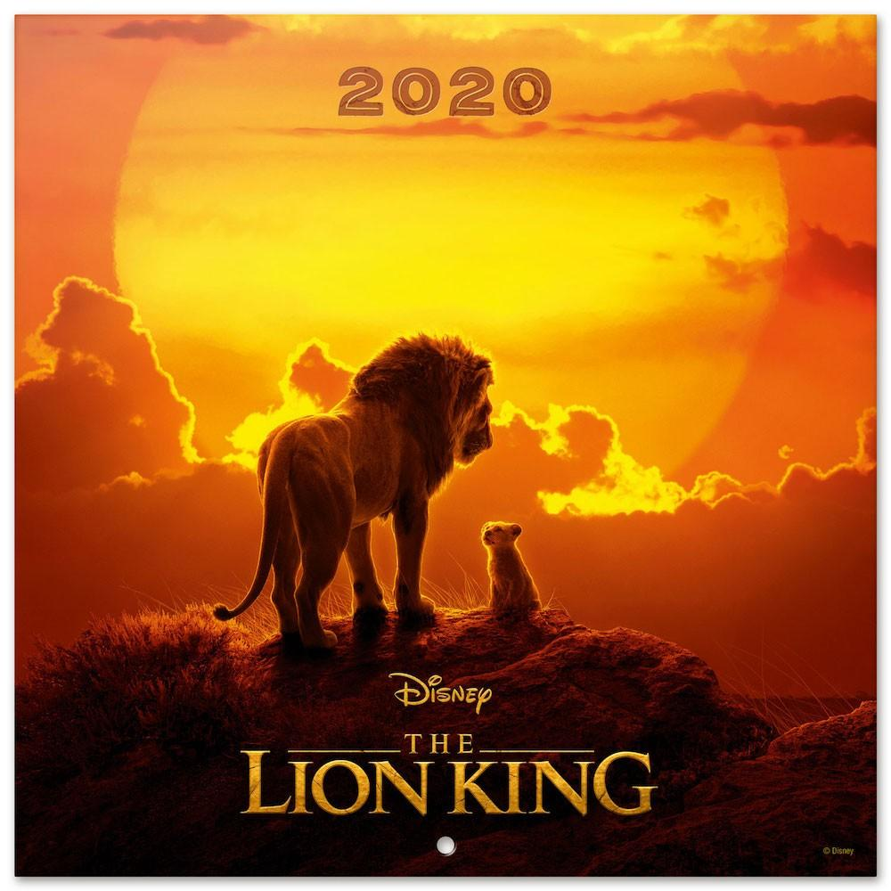 DISNEY Lion King - Calendrier 2020 - 30x30