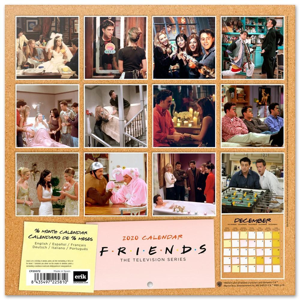 FRIENDS - Calendrier 2020 - 30x30_2