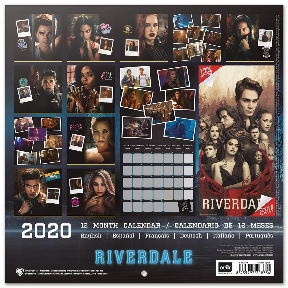 RIVERDALE - Calendrier 2020 - 30x30_2