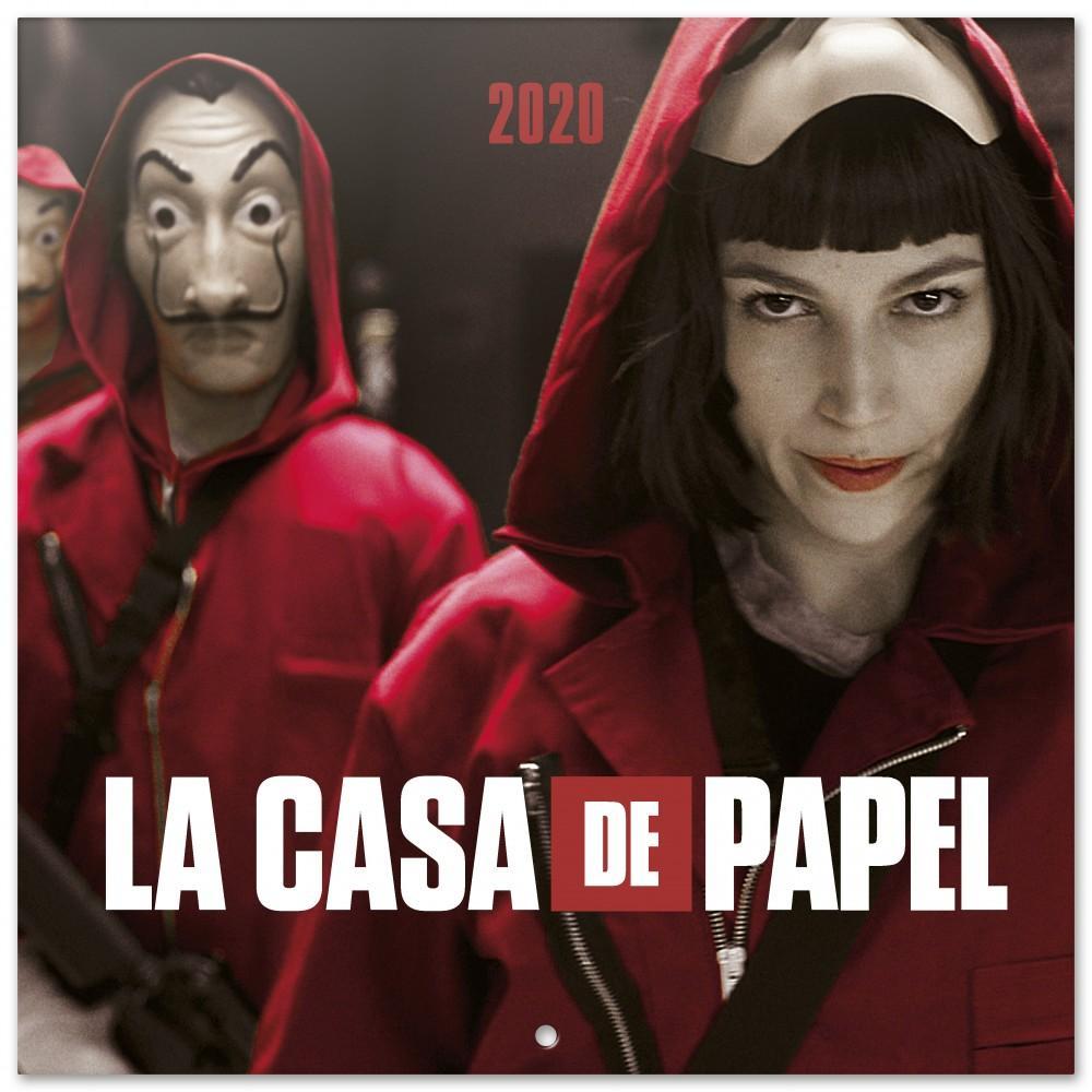 CASA DE PAPEL- Calendrier 2020 - 30x30_1