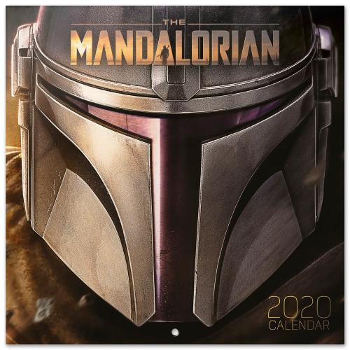 STAR WARS The Mandalorian - Calendrier 2020 - 30x30