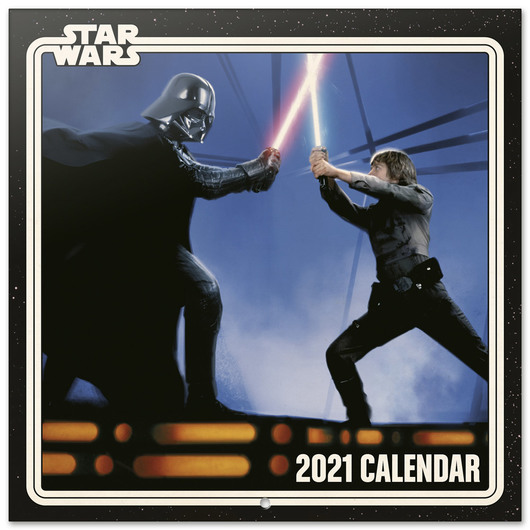 ShopForGeek | STAR WARS   Calendrier 2021 '30x30cm