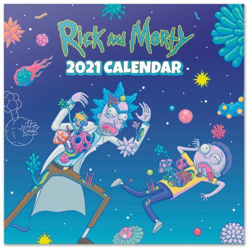 RICK & MORTY - Calendrier 2021 '30x30cm'