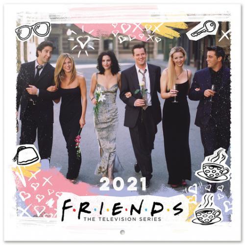 FRIENDS - Calendrier 2021 '30x30cm'