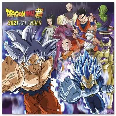 DRAGON BALL SUPER - Calendrier 2021 '30x30cm'
