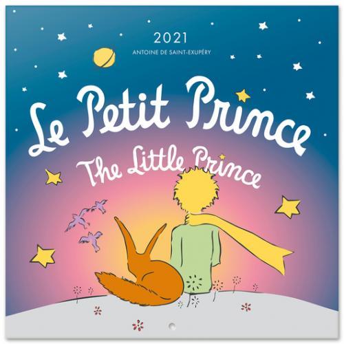 LE PETIT PRINCE - Calendrier 2021 '30x30cm'