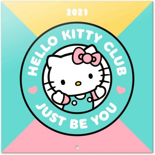 HELLO KITTY - Calendrier 2021 '30x30cm'