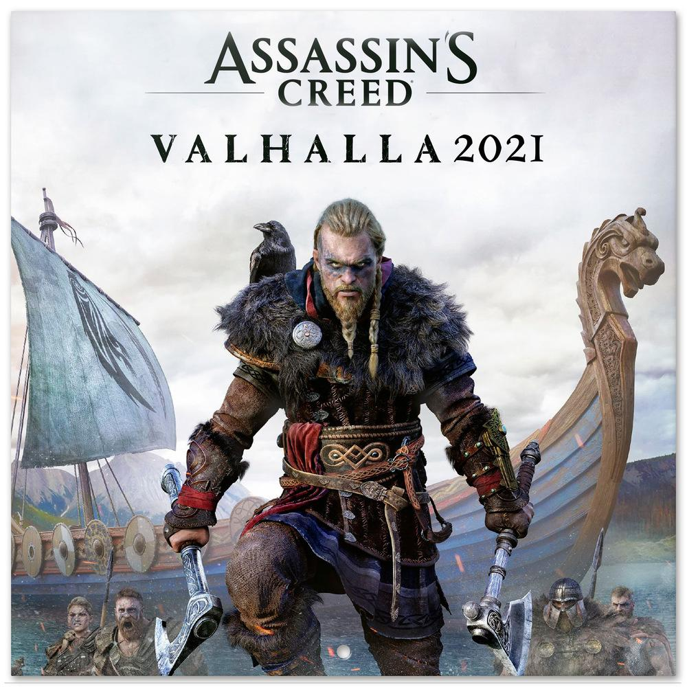 ShopForGeek | ASSASSIN'S CREED VALHALLA   Calendrier 2021 '30x30cm