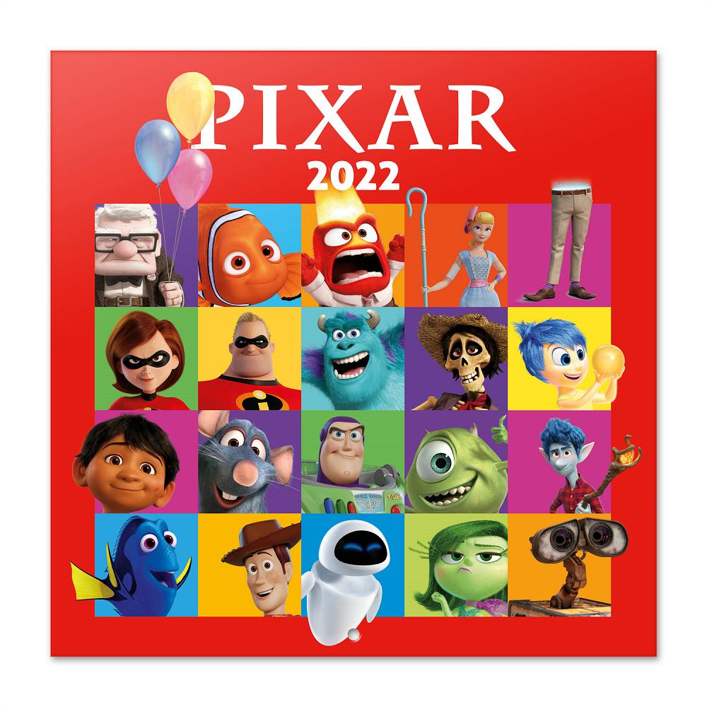 Calendrier Disney 2022 ShopForGeek | PIXAR   Calendrier 2022 '30x30cm'   8435497259792