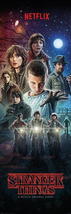 STRANGER THINGS - Poster de porte - One Sheet - 53x158