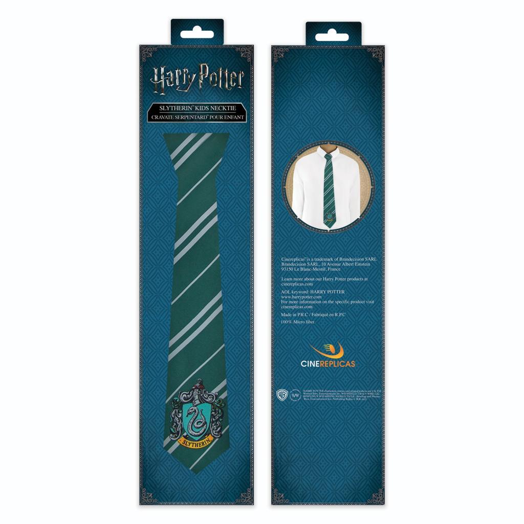 HARRY POTTER - Cravate Enfant Serpentard_4