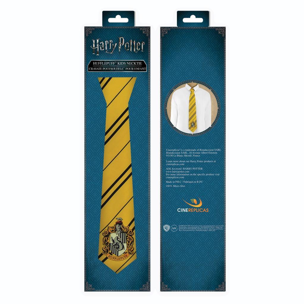 HARRY POTTER - Cravate Enfant Poufsouffle_4