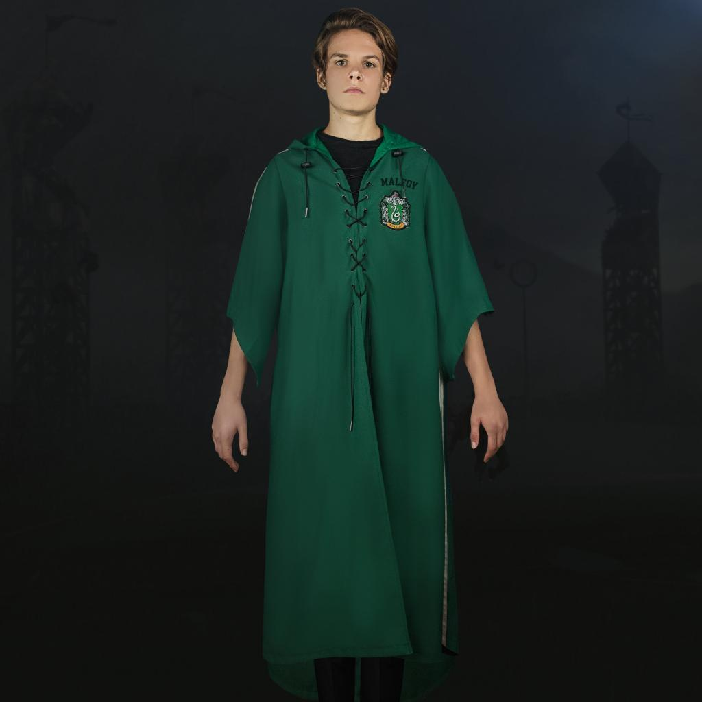 HARRY POTTER - Robe de Quidditch Serpentard personnalisable (S)_2