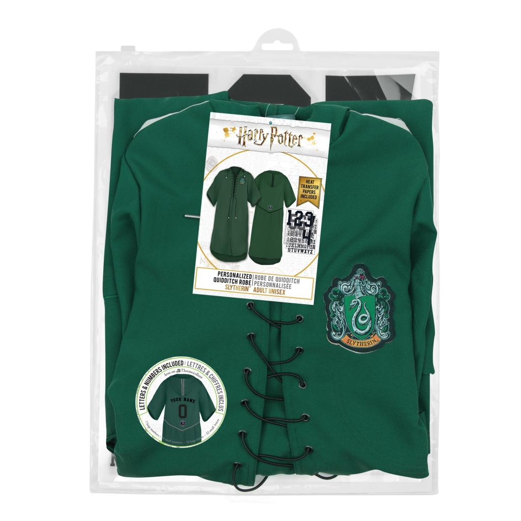 HARRY POTTER - Robe de Quidditch Serpentard personnalisable (S)_5