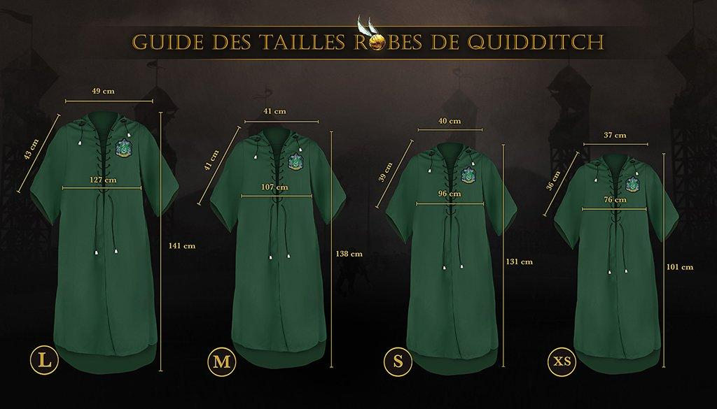 HARRY POTTER - Robe de Quidditch Serpentard personnalisable (S)_6