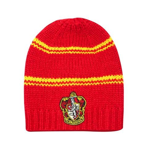 HARRY POTTER - Bonnet Long Slouchy Gryffondor Rouge et Jaune
