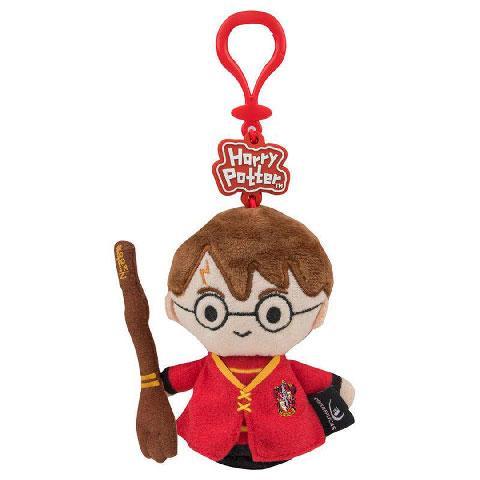 HARRY POTTER - Porte-clés peluche - Harry Potter en tenue de Quidditch