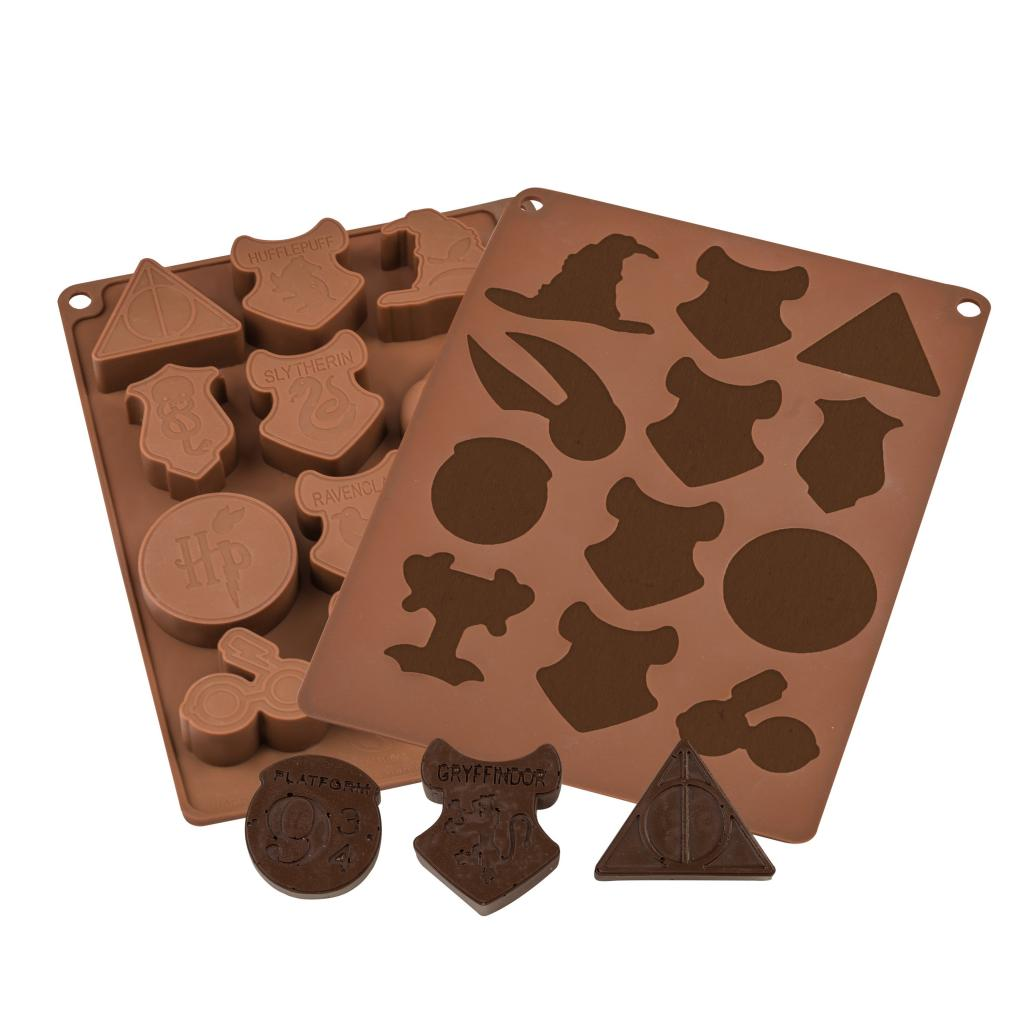 HARRY POTTER - Moule à Chocolats et Glaçons Pack 2 pcs - Logo