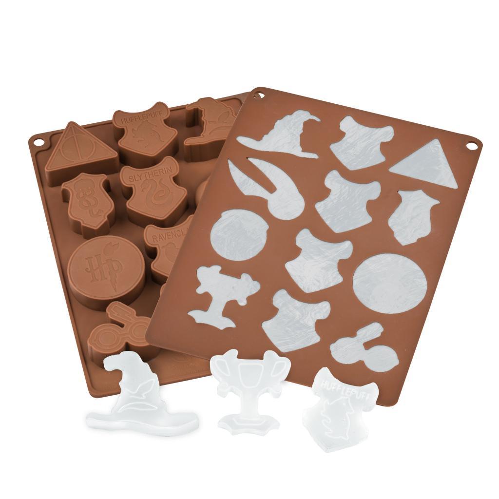 HARRY POTTER - Moule à Chocolats et Glaçons Pack 2 pcs - Logo_2