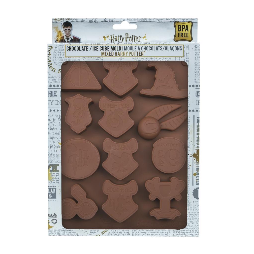 HARRY POTTER - Moule à Chocolats et Glaçons Pack 2 pcs - Logo_5