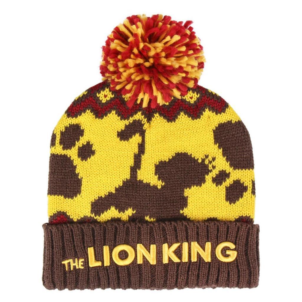 DISNEY - Bonnet Enfant - Pompon - Le Roi Lion
