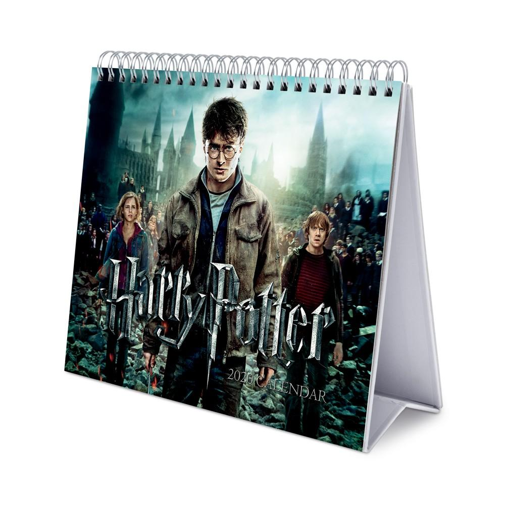 HARRY POTTER - Calendrier de bureau 2020 - 17x20