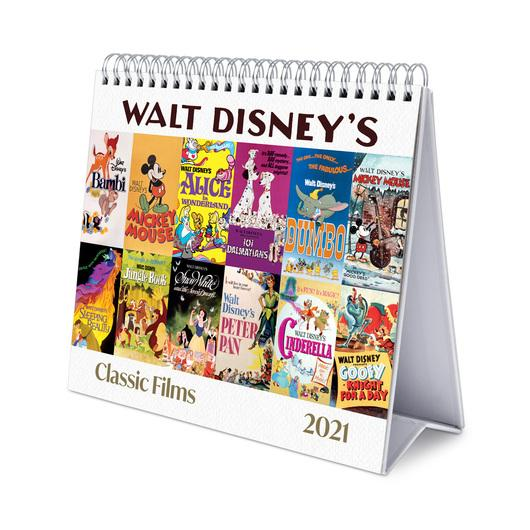 Calendrier Bureau 2021 ShopForGeek | DISNEY   Classics Films   Calendrier de bureau 2021