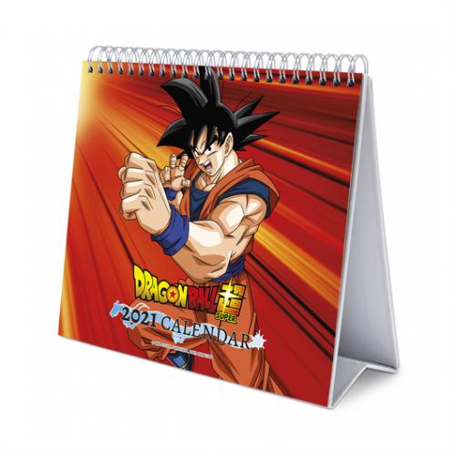 DRAGON BALL SUPER - Calendrier de bureau 2021 '17x20cm'