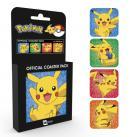 POKEMON - Pack de 4 Dessous de Verre - Pikachu