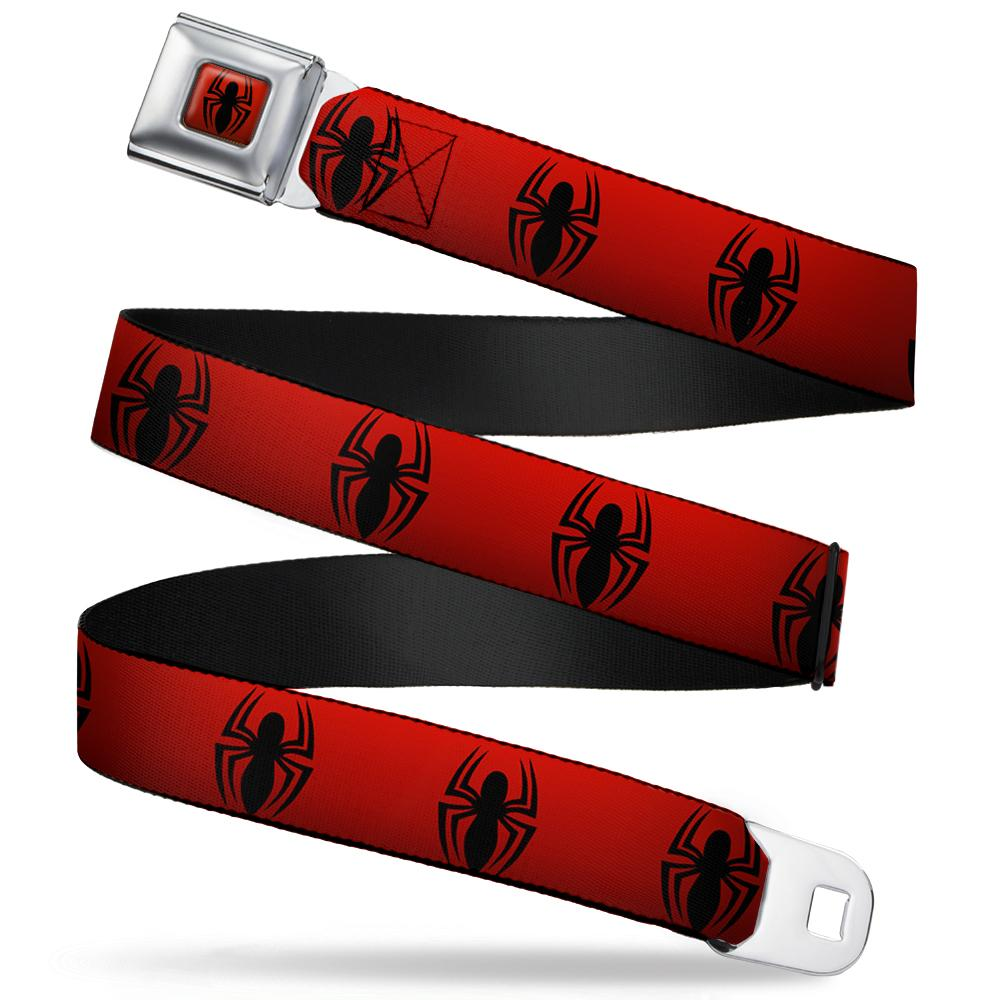 SPIDERMAN - Ceinture (Regular) - 60/96 - 3,8 Cm - Red/Logo