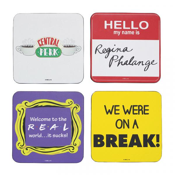 FRIENDS - Coaster Set of 4 - Quotes