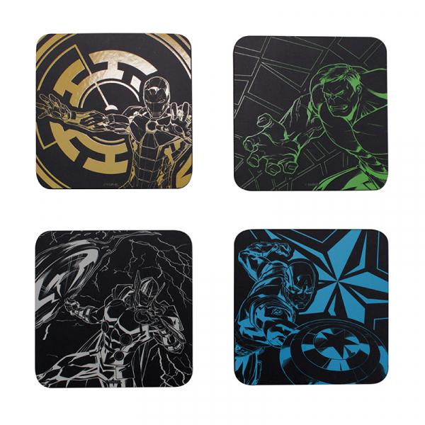 MARVEL AVENGERS - Coaster Set of 4