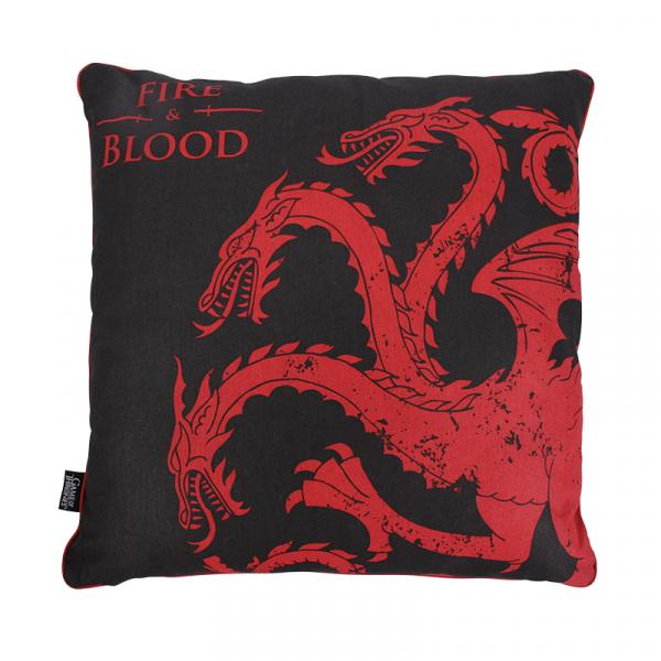 GAME OF THRONES - Coussin 45X45 - Targaryen