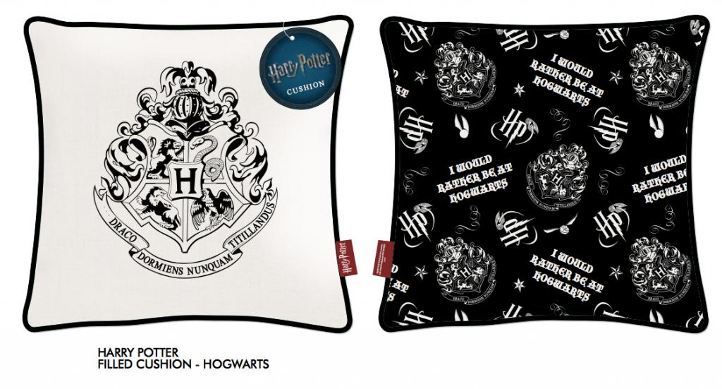 HARRY POTTER - Coussin 45X45 - Hogwarts