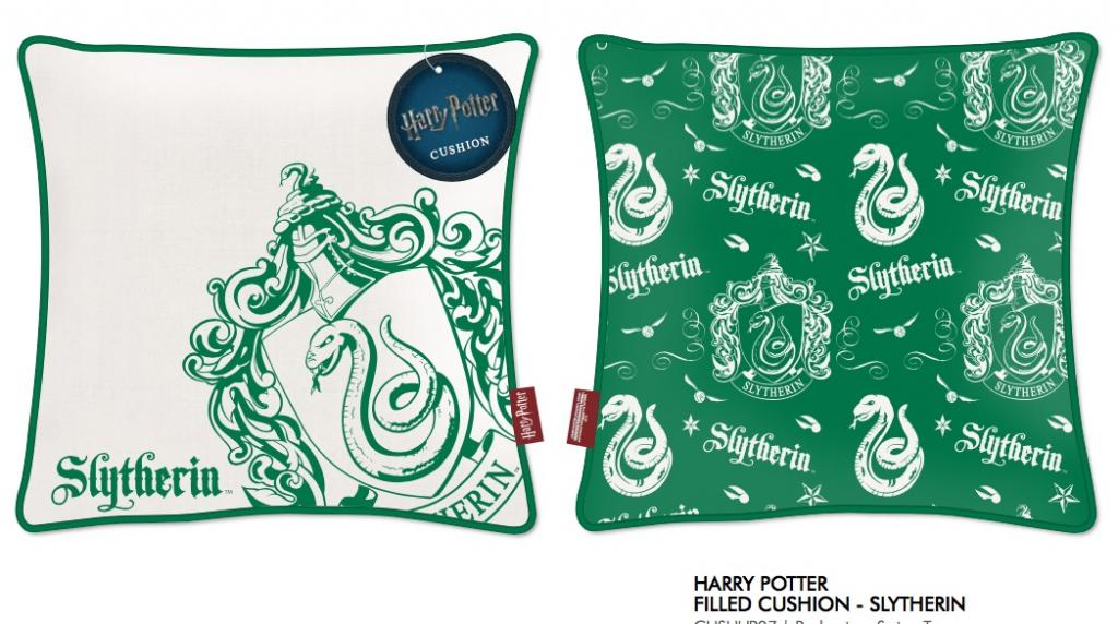 HARRY POTTER - Coussin 45X45 - Slytherin