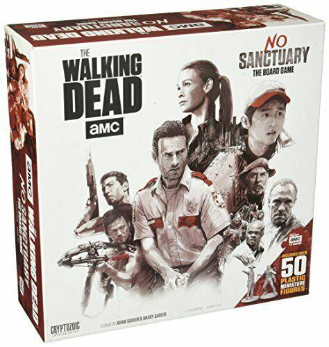 THE WALKING DEAD - No Sanctuary - Board Game - 'Version Anglaise'