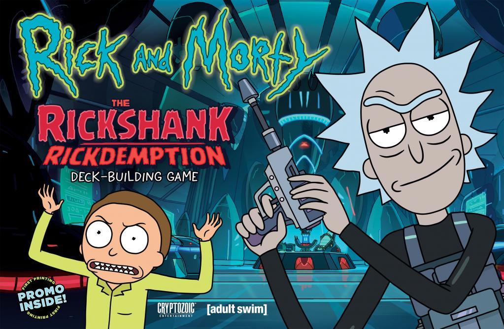 RICK & MORTY - The Rickshank Redemption Deck Building Game (UK)