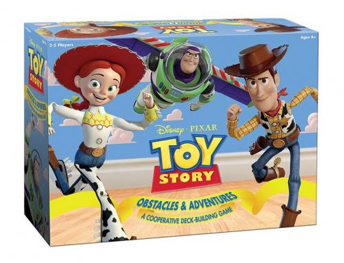 TOY STORY - Jeu de Deck-Building Obstacles & Adventures 'UK'