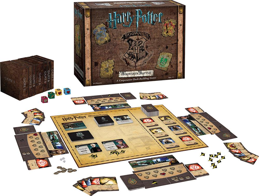 HARRY POTTER Hogwarts Battle - Cooperative Deck-Building Game 'UK Only