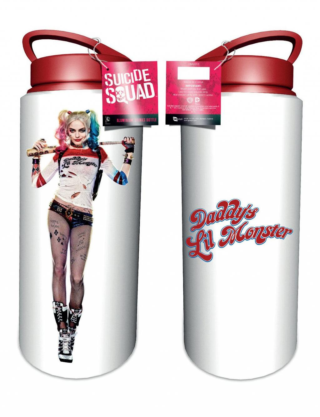 SUICIDE SQUAD - Aluminium Drink Bottles 700 ml - Harley Quinn