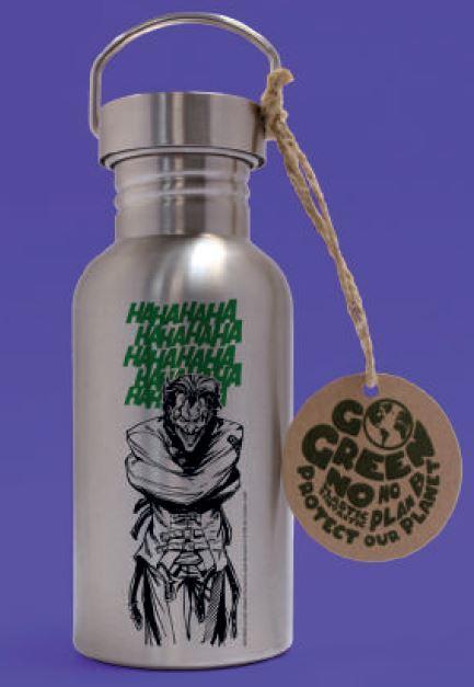DC COMICS - Joker Laughs - Bouteille en aluminium 500ml