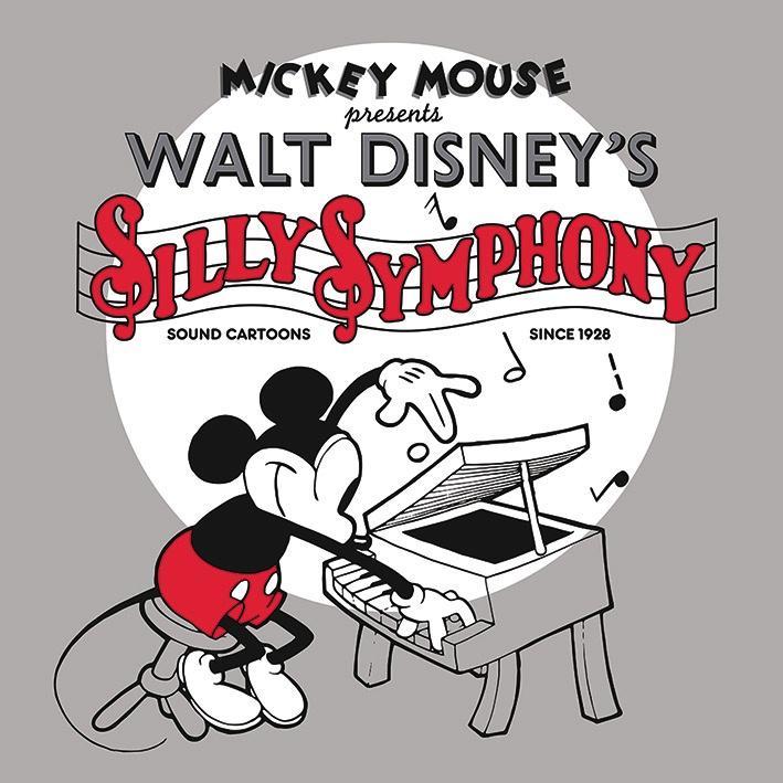 DISNEY - Canvas 40X40 '18mm' - Mickey Mouse Silly Symphony