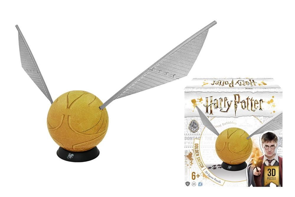 HARRY POTTER - 3D Puzzle - Golden Snitch - 244 pcs