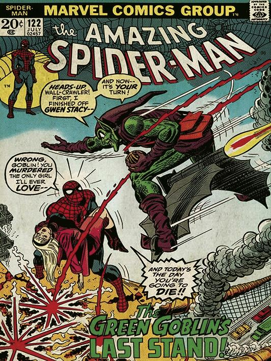 MARVEL COMICS - Canvas 30X40 '18mm' - Spider-Man Green Goblin