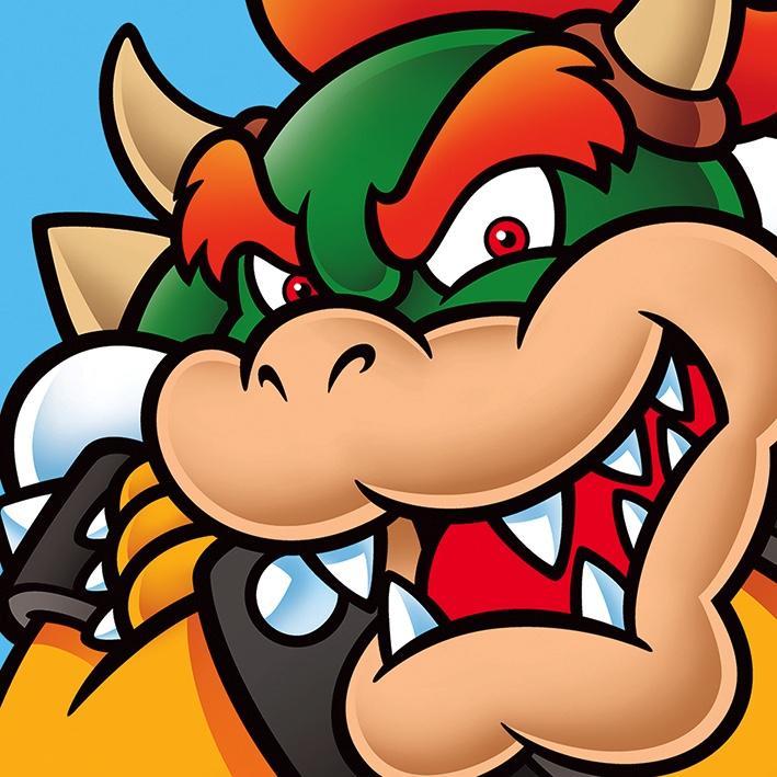NINTENDO - Canvas 40X40 '18mm' - Super Mario : Browser_1
