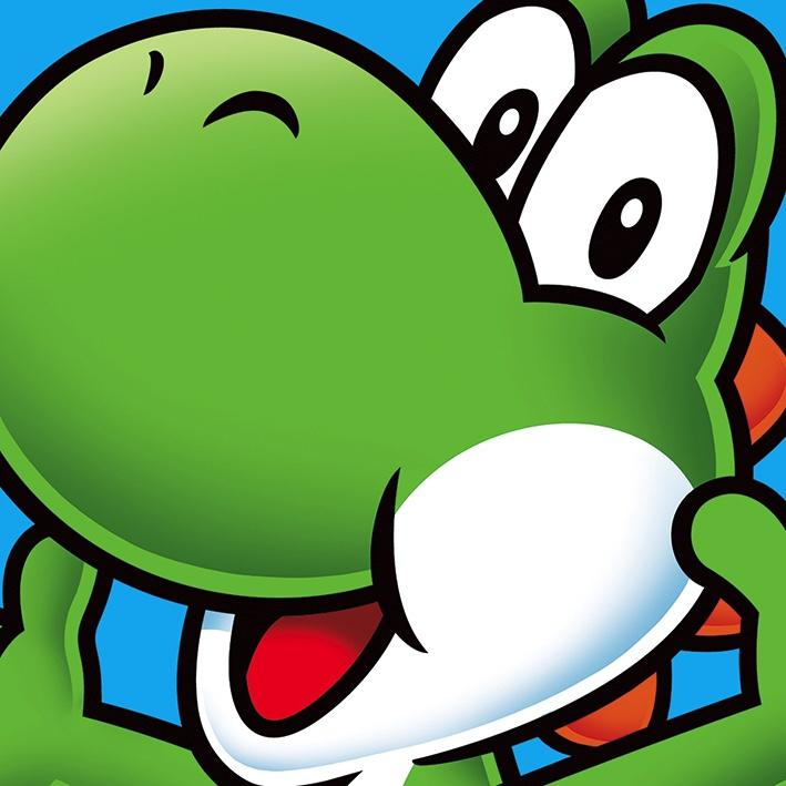NINTENDO - Canvas 40X40 '18mm' - Super Mario : Yoshi