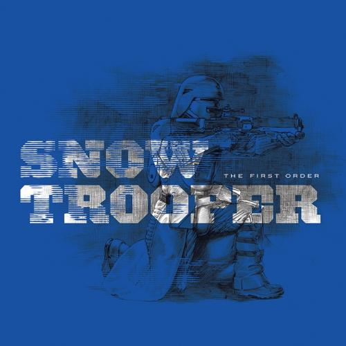 STAR WARS - Canvas 40X40 '18mm' - Episode VII - Snowtrooper Blue