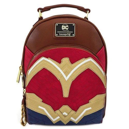 DC COMICS - Wonder Woman Mini Backpack 'LoungeFly'_1