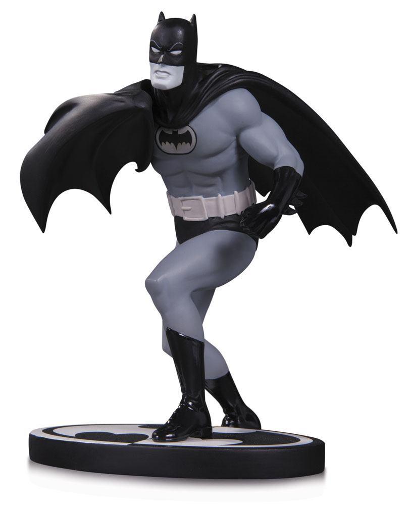 BATMAN - Black & White Statue Batman by Carmine Infantino - 16cm