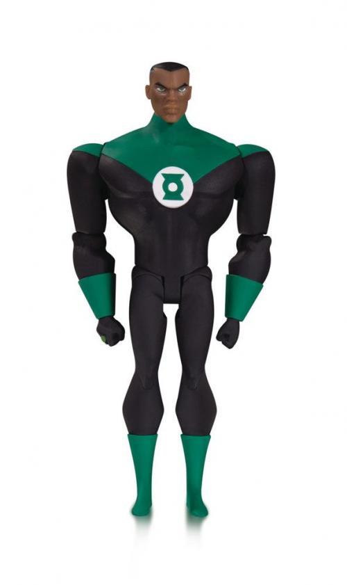 JUSTICE LEAGUE ANIMATED SERIES - Green Lantern John S. - Figurine 14cm